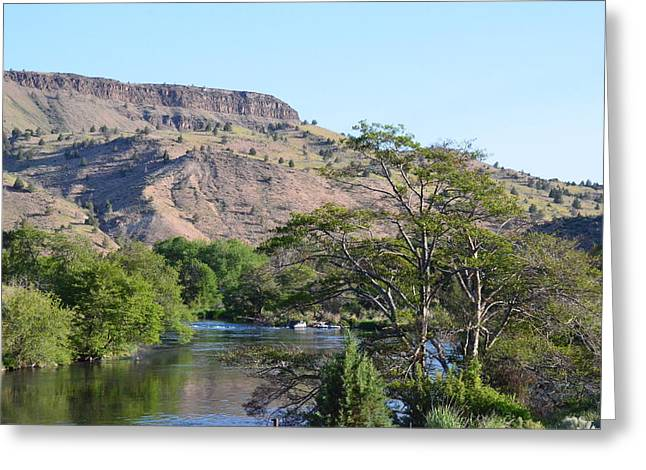 Deschutes River At Trout Creek Greeting Card