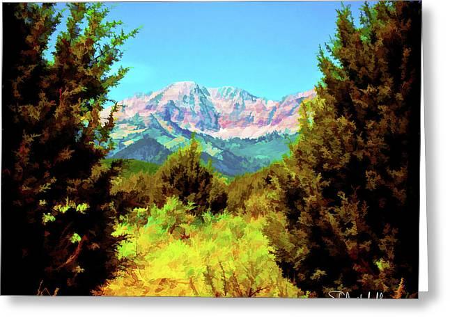 Deseret Peak Greeting Card