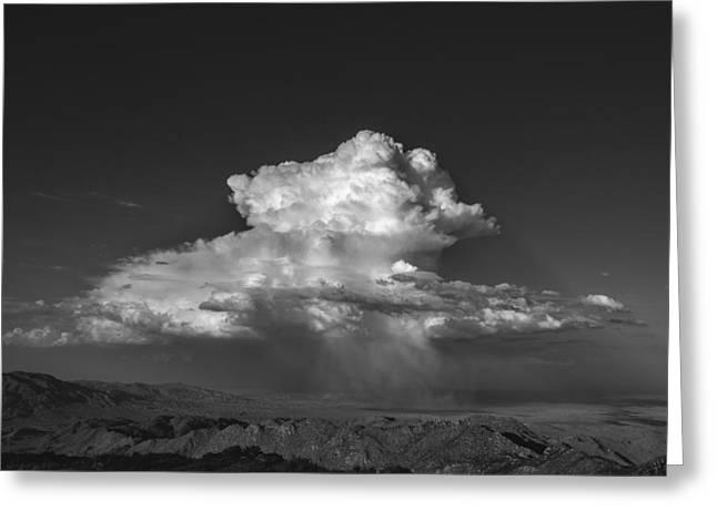 Desert Cloudburst Greeting Card by Joseph Smith