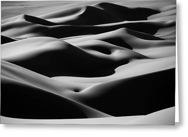 Desert Curves Greeting Card