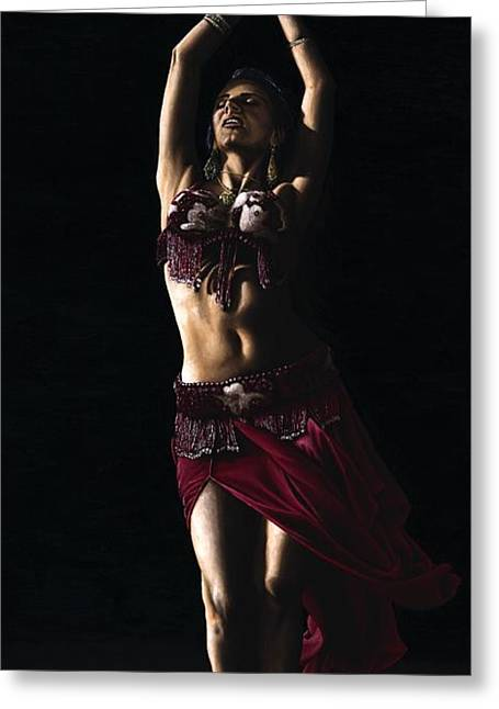 Desert Dancer Greeting Card by Richard Young