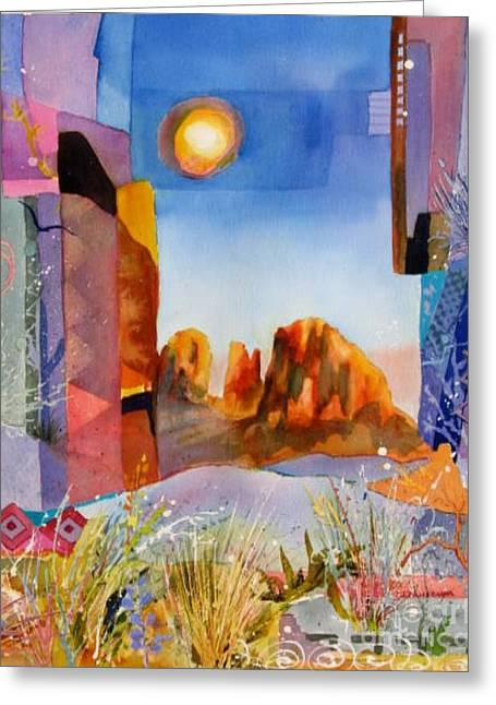 Desert Escape Greeting Card