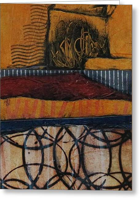 Desert Heat Greeting Card by Laura Lein-Svencner