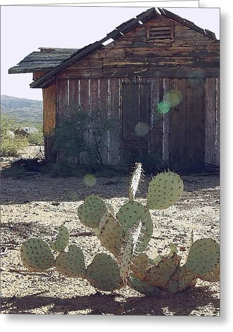Desert Home Greeting Card