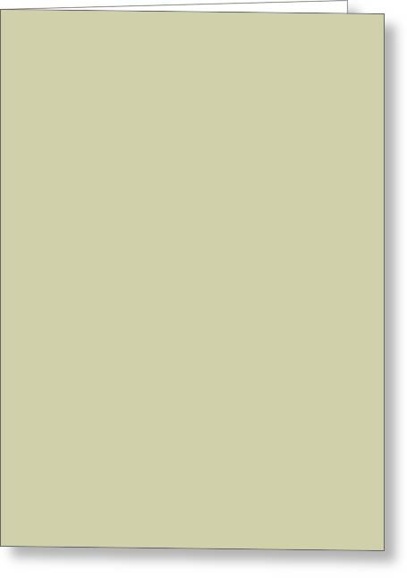 Desert Horizon Vertical Greeting Card