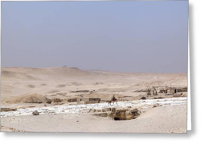 desert in Egypt Greeting Card by Joana Kruse