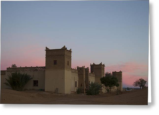 Desert Kasbah Morocco Greeting Card