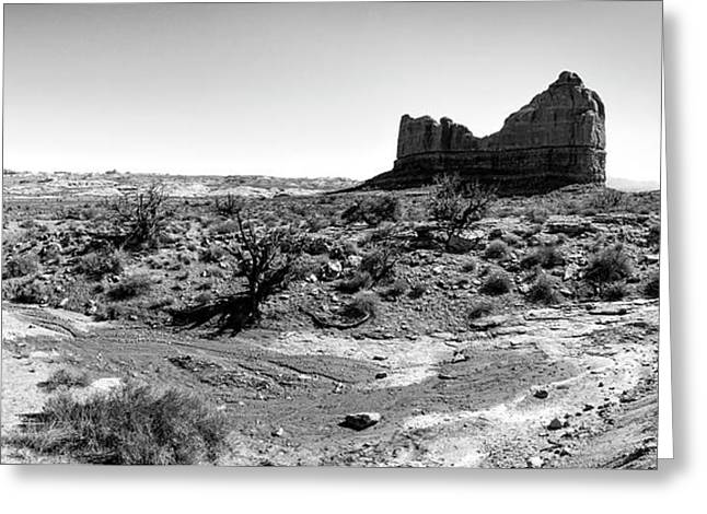 Desert Landscape - Arches National Park Moab, Utah Greeting Card