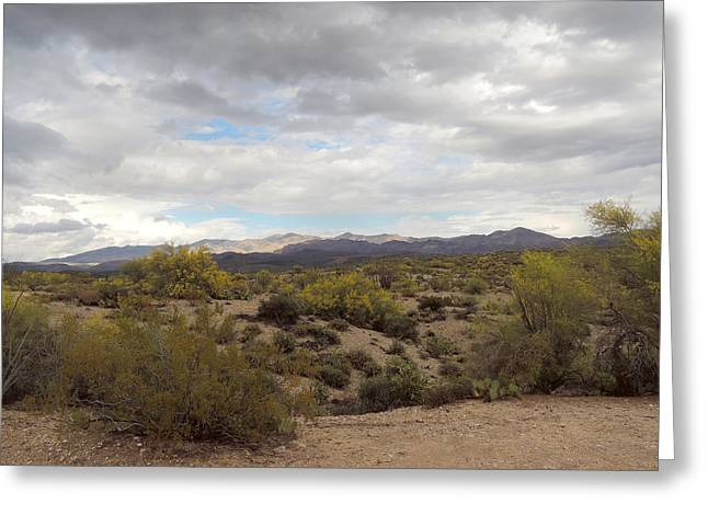 Greeting Card featuring the photograph Desert Moods by Gordon Beck