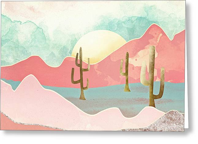 Desert Mountains Greeting Card