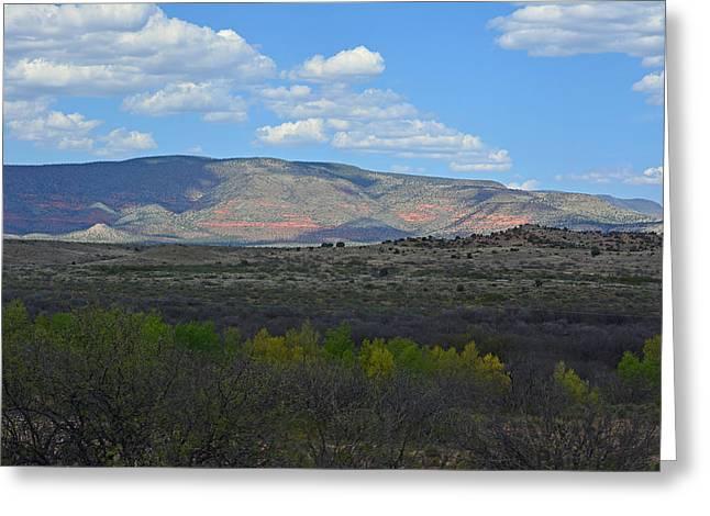 Desert Mountains - Verde Canyon Greeting Card
