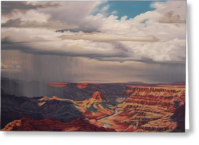 Desert Palisades Greeting Card