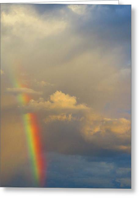 Desert Rainbow Greeting Card
