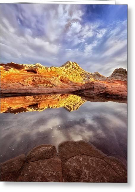 Desert Rock Drama Greeting Card