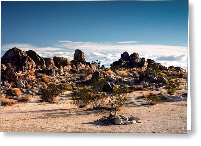 Desert Rocks At Joshua Tree Greeting Card