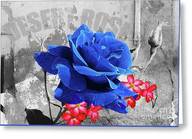 Desert Rose Greeting Card by Neil Finnemore