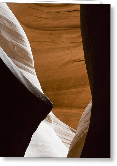 Desert Sandstone Abstract Greeting Card