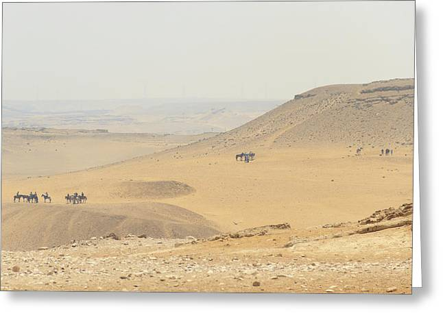Greeting Card featuring the photograph Desert by Silvia Bruno