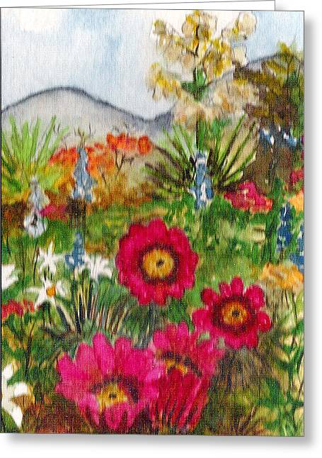 Desert Spring Greeting Card