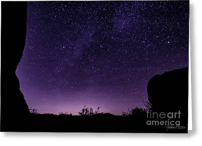 Desert Starscape Greeting Card