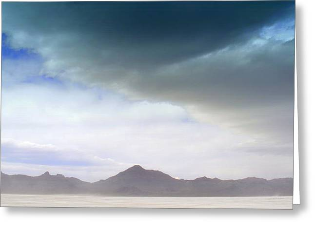 Desert Storm Greeting Card by Pat Kunke