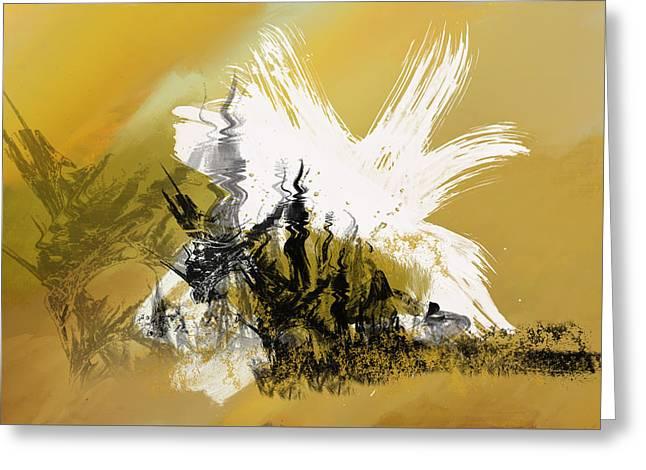 Desert Storm Greeting Card by Art Spectrum