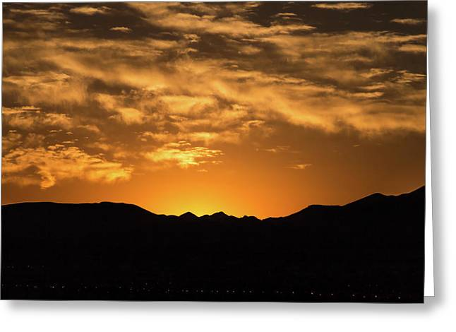 Desert Sunrise Greeting Card