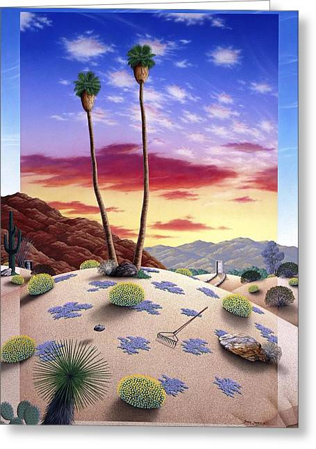 Desert Sunrise Greeting Card
