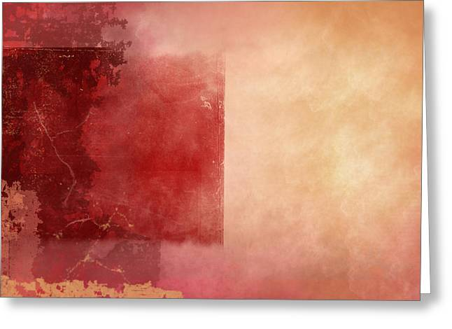 Desert Sunset Greeting Card by Christopher Gaston