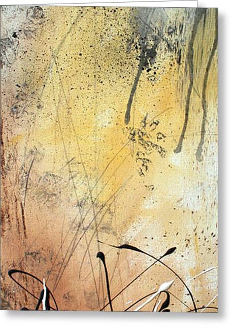 Abstract Style Greeting Cards - Desert Surroundings 1 by MADART Greeting Card by Megan Duncanson