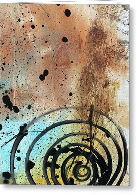 Desert Surroundings 4 By Madart Greeting Card by Megan Duncanson