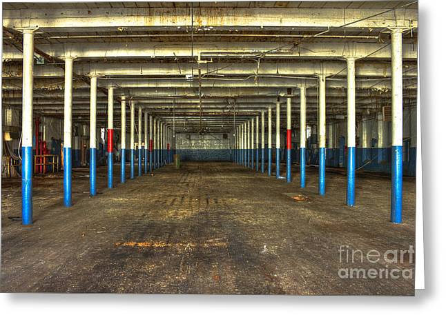Deserted After Cotton Was King The Mary Leila Cotton Mill 1899 Greeting Card by Reid Callaway