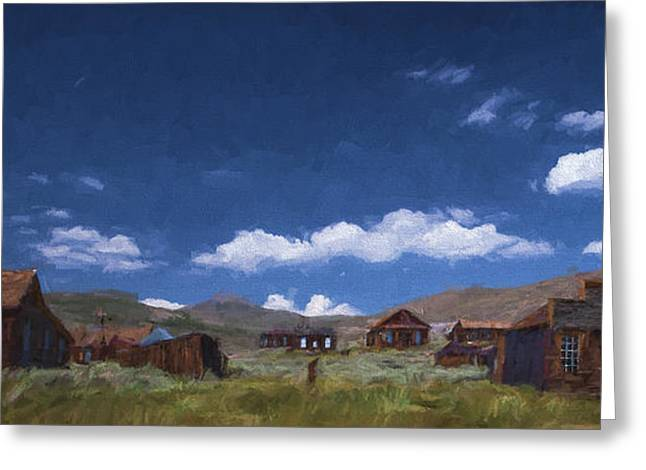 Deserted Bodie II Greeting Card by Jon Glaser
