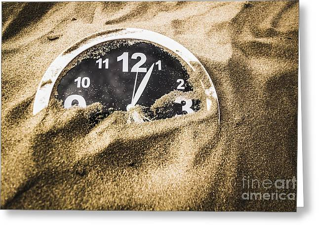 Deserted In Time Greeting Card by Jorgo Photography - Wall Art Gallery