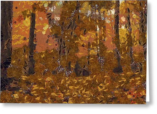 Design Of Autumn Greeting Card by Dan Sproul