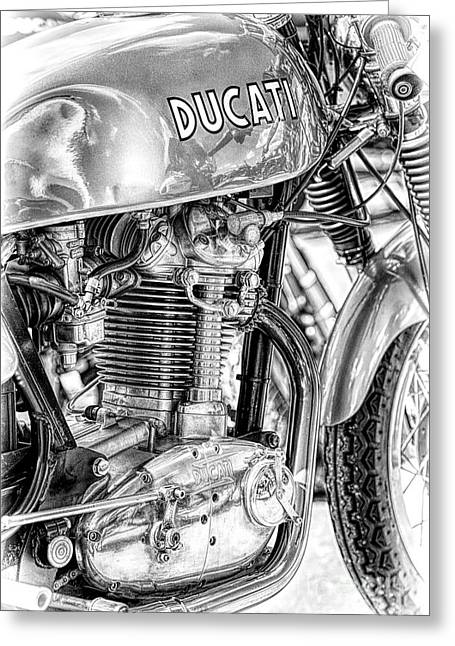 Desmo Mk 3 Greeting Card by Tim Gainey