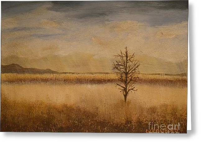 Desolation Greeting Card by Lori Jacobus-Crawford
