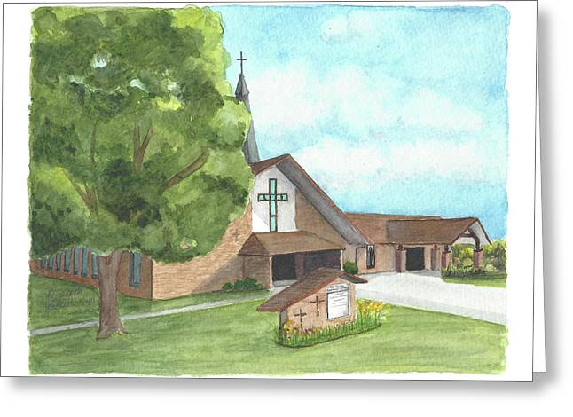 De Soto Baptist Church Greeting Card
