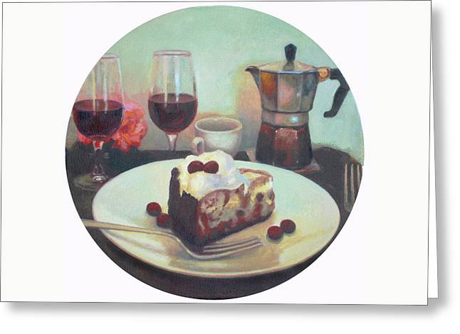 Dessert Wine  Greeting Card by Mark Manning