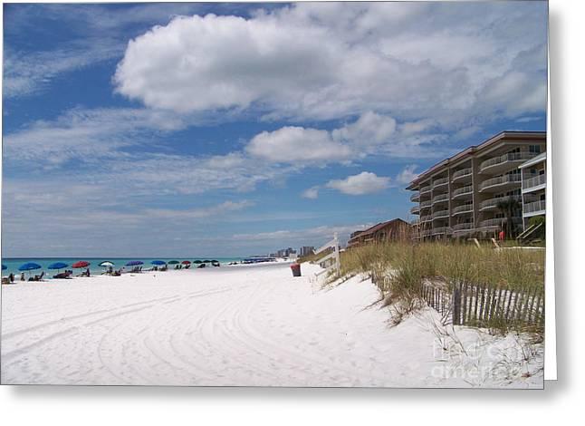 Destin Beach Greeting Card by Kevin Croitz