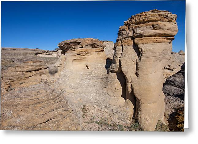 Greeting Card featuring the photograph Destination Hoodoos by Fran Riley