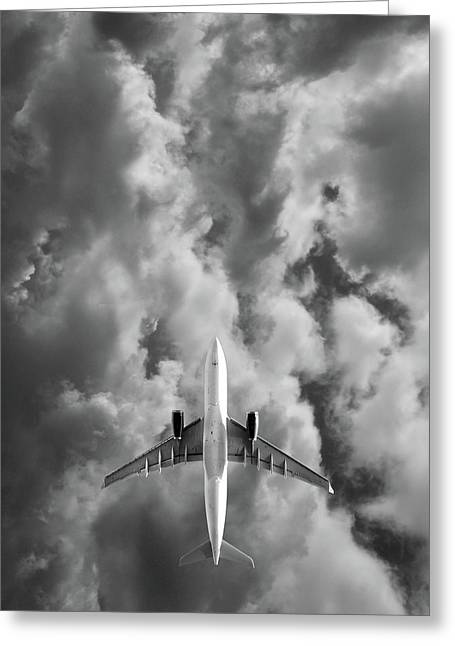 Destination Unknown Greeting Card by Mark Rogan