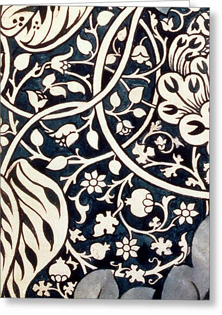 Detail Design For Avon Chintz Greeting Card by William Morris
