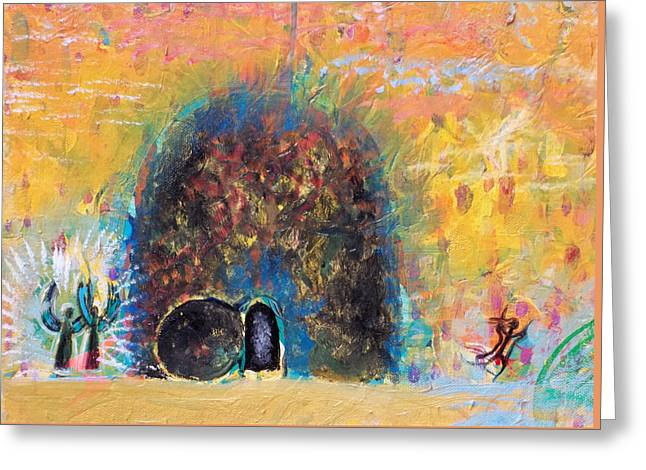 Detail Of Empty Tomb Greeting Card