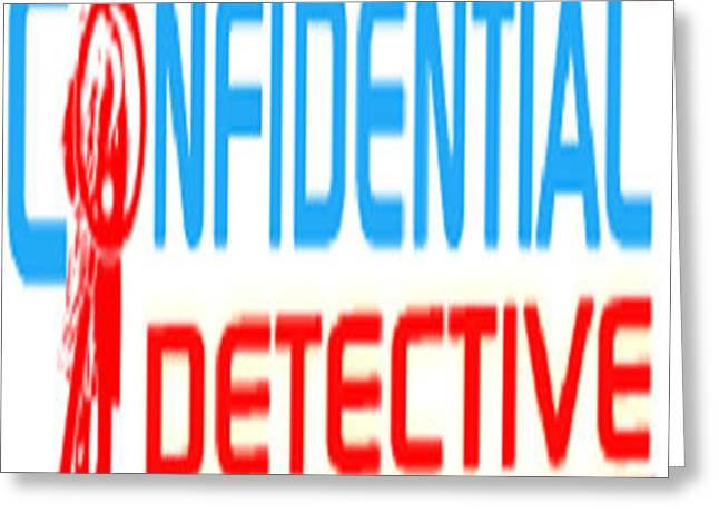 Detective Agency In Delhi Greeting Card