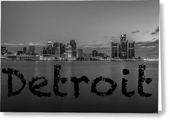 Detroit City  Greeting Card