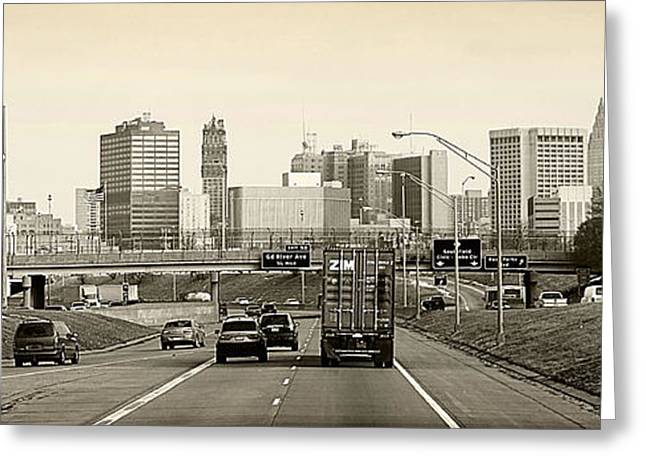 Detroit Michigan Greeting Card