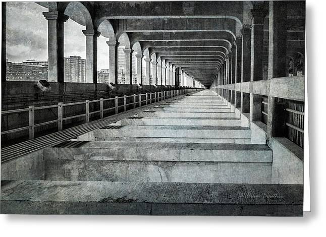 Detroit-superior Bridge Lower Level Greeting Card