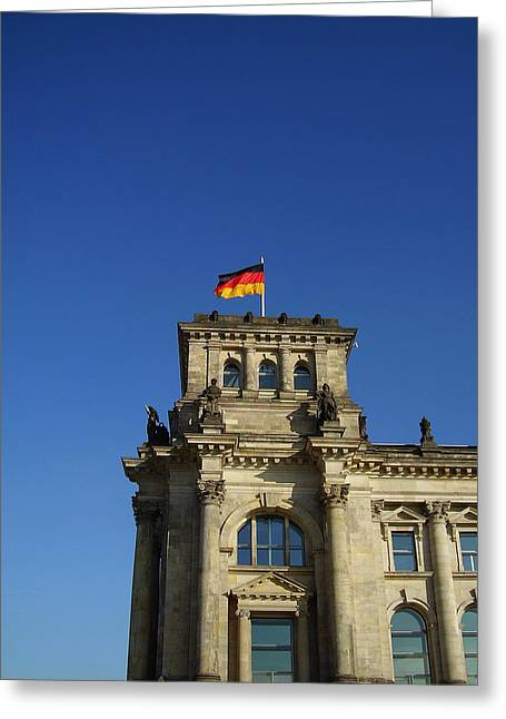 Deutscher Bundestag II Greeting Card