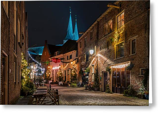 Deventer, Roggestraat Greeting Card